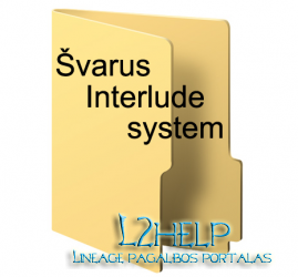 Švarus interlude system